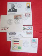 lot enveloppes AOF ancienne/timbres premier jour