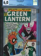 CGC 6.0 GREEN LANTERN #6 WHITE PAGES 1ST APPEARANCE TOMAR-RE