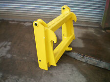 Merlo to lift JCB Qfit interchanger adapter plate conversion plate