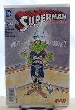 SUPERMAN #30 1:25 MAD MAGAZINE COKER VARIANT COVER 1ST PRINT NM DC COMICS 2014