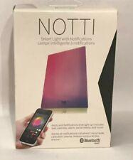 WITTI NOTTI Smart Mood and Bluetooth Night Light with RGB Notifications NEW