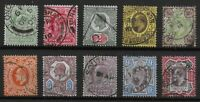 KEVII Selection With Values To 9d.&10d.  Mostly Very Fine Used.  Ref.0853