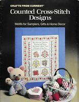 Counted Cross Stitch Designs Motifs for Samplers & Decor | Crafts From Current