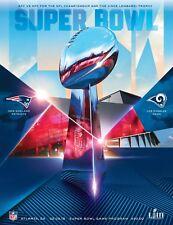 Super Bowl 53 Official Program - Stadium Holographic Version - Patriots v Rams