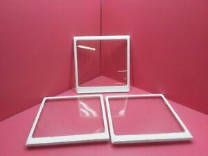 SAMSUNG REFRIGERATOR 3 UPPER GLASS SHELVES DA67-02417A SEE DETAILS