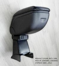 Armrest Centre Console Storage Adjustable Dacia Logan Sandero MPV 2005- Renault