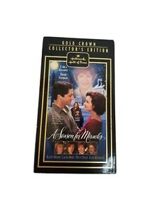 New A SEASON FOR MIRACLES VHS 1999 Hallmark Hall of Fame Drama NR Fast Ship