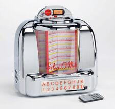 STEEPLETONE 1950 Diner Jukebox With BT Bluetooth FM Radio USB/SD