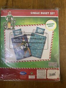 Elf Movie Christmas Bedding Single Duvet Set - Used Once In VGC