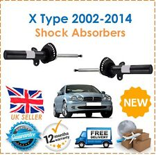 For Jaguar X Type X400 2002-2010 Front Shock Absorbers Set Shockers Dampers New