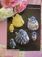 Vintage Tea Cosy Knitting Pattern In 3 Styles & Egg Cosies  JUST £1.69 !!!!