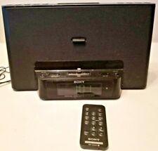 Sony Model ICF-CS15iP Dream Machine Personal Audio iPod Docking System w/ Remote