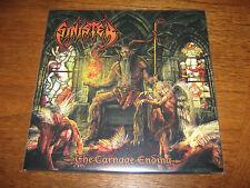 "SINISTER ""The Carnage Ending"" LP  pestilence asphyx immolation"