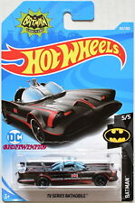 HOT WHEELS 2018 BATMAN TV SERIES BATMOBILE #5/5