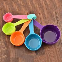 Eg _ 5Pcs Plastique Tasses à Mesurer Cuillère Décolleté Cuisine Outil Cuisso