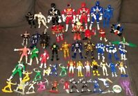 Mighty Morphin Power Rangers Action FIgure Lot Megazord Zord Vintage Bandai Toys