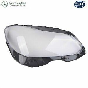 Mercedes W212 E400 E350 E550 E500 E63 AMG RIGHT Headlamp Lens Cover OEM 14-16
