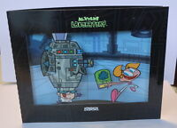 DEXTER'S LABORATORY promo cybercene cel 3D, 2003 Dexter & Dee Dee - Great gift!