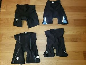 Lot of 4 Pearl Izumi Specialized CYCLING BIKE PADDED Compression SHORTS Mens L