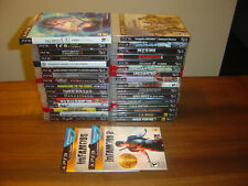 PlayStation 3 Game Lot of 34 Games No Sports or Duplicates PS3