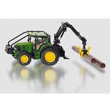 SIKU Kinder Spielzeug John Deere Forsttraktor Traktor Waldfahrzeug mit Kran 4063