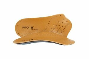 Pro 11 Wellbeing Premium 3/4 Leather insoles