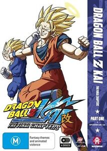 Dragon Ball Z Kai The Final Chapters Part 1 Episodes 9-121 BRAND NEW R4 DVD