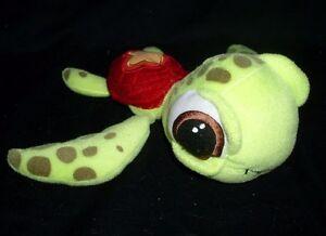DISNEY MOVIE FINDING NEMO SQUIRT GREEN LITTLE TURTLE STUFFED ANIMAL PLUSH TOY