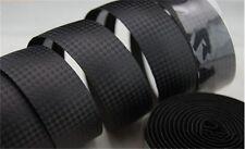 Bike bicycles Handle Bar Tape Carbon Fiber Handlebar Tape Grips  + Plugs