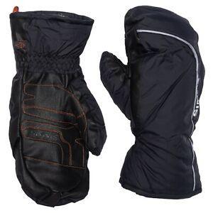 Simms Fishing Warming Hut PrimaLoft Gloves Mittens - Cold Weather - Black - NEW!