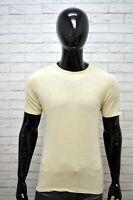 Maglia Uomo GAS Taglia Size L Camicia Shirt Man Manica Corta Chemise homme Basic