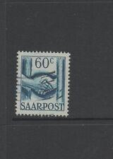 SAAR 1948 60c BLUE Fine Used