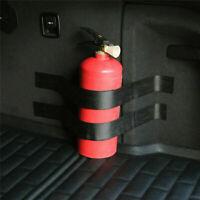 Car, Home Dry Powder Safety Fire Extinguisher with Bracket Y4H5 Strip* A4M5