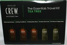 AMERICAN CREW The Essentials Travel Kit For Hair, Face & Body With TEA TREE **