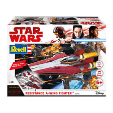 KIT REVELL STAR WARS THE LAST JEDI  RESISTANCE A-WING FIGHTER  ART 06759