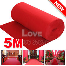 5*1m Red Carpet Wedding Party Decoration Runner Hollywood Awards Night Casino