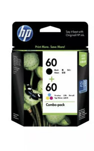 Genuine HP60 Black & Colour Ink cartridges For HP F2410 D2500 F4200 C4780 F4480