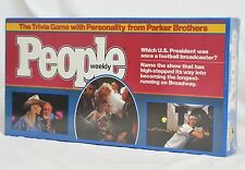 1984 People Weekly Trivia Game by Parker Brothers   NEW   Made in USA