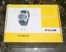 Polar F1 Fitness Heart Rate Monitor Watch w/ Transmitter Chest Strap - OPEN BOX