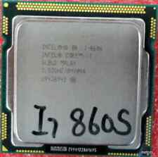INTEL Core i7 Quad Core CPU i7-860S 2.53GHZ/8MB LGA1156 SLBLG Processor