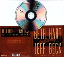 BETH HART Feat JEFF BECK Tell Her You Belong To Me 2016 Dutch 1-track promo CD