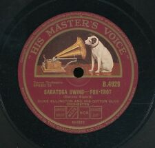 15pc78-Jazz-His Masters Voice B 4929-Duke Ellington & Cotton Club Orch.