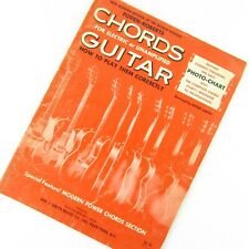 Foden-Roberts Chords For Electric or Unamplified Guitar Music Instruction Book