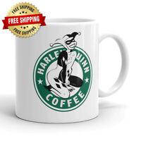 Harley Quinn Comic Book Villian Anime Coffee Parody Mug Coffee Ceramic Mug Cup