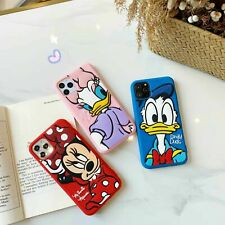 Cute Cartoon Minnie Daisy Silicone case cover for iphone 12 11 Pro XS Max X 7 8+