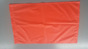 Beaters Flag In Bright Orange 5 Flags