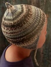 Cg41 - Knitting Pattern - Children's Chunky Pixie Ear Flap Beanie Hat