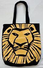 NWOT Disney The Lion King Broadway Musical Simba Tote Bag