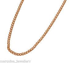"9ct Gold Pendant - Locket Chain - Curb Chain 18""."