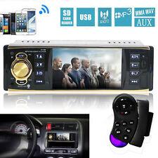 "4.1"" HD 1DIN Bluetooth Car Stereo MP5 MP3 Player Auto Video Radio AUX/FM/USB New"